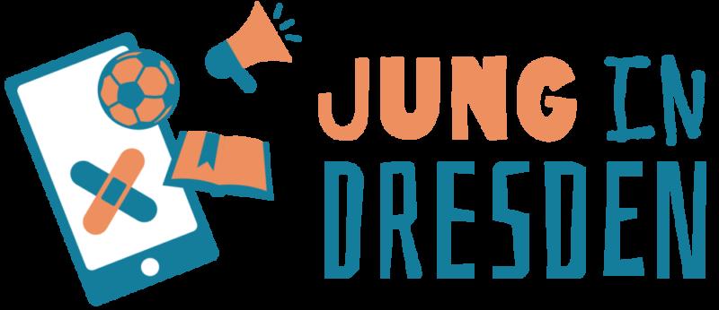 Jung in Dresden